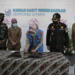 Walikota Tangerang Selatan Airin Rachmi Diany meresmikan Rumah Sakit UMUM Daerah (RSUD)