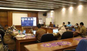 Pemerintah Kabupaten Tangerang melalui Badan Perencanaan Pembangunan Daerah (Bappeda) menyelengarakan Pelaksanaan Forum Lintas Perangkat Daerah Tahun 2021.