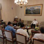 Bupati Tangerang A Zaki Iskandar (depan tengah) dan Kapolresta Tangerang Kombespol Wahyu Sri Bintoro
