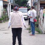 Saat 37 warga Dasana Indah yang terpapar covid-19 akan menjalani isolasi di Hotel Yasmin. (Irfan Maulana/SuaraBantenNews)